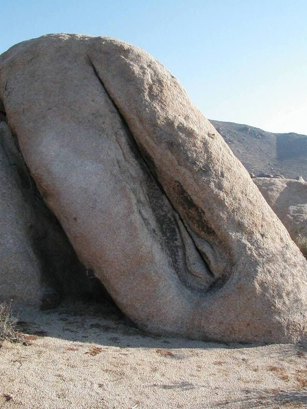 dirty rock - stone vagina