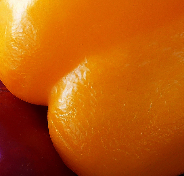 erotic yellow pepper