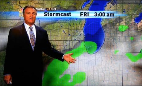 sexy chicago weather forecast penis-shaped
